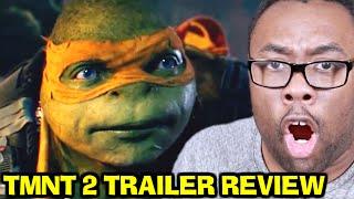 NINJA TURTLES 2 Movie Trailer Review  : Black Nerd
