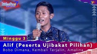 Alif (Peserta Ujibakat Pilihan) - Bobo Dimana, Kembali Terjalin, Amalina | Minggu 3 | #Mentor7