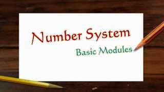 Number System Basics (Part 1/3 Module 1 Numbers system)