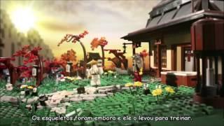 LEGO Ninjago - Como Wu Conheceu os Ninja - Stop Motion - Legendado(PT-BR)