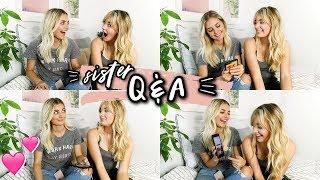 SISTER Q&A!! (boys, conspiracy theories & more)   Aspyn Ovard