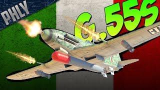 The Italian SLAYER - G.55 Centauro (War Thunder Italian Plane Gameplay)