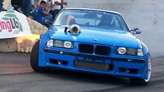 BMW E36 Drift (Powered by Bachir Hanna) دريفت بي ام دبليو