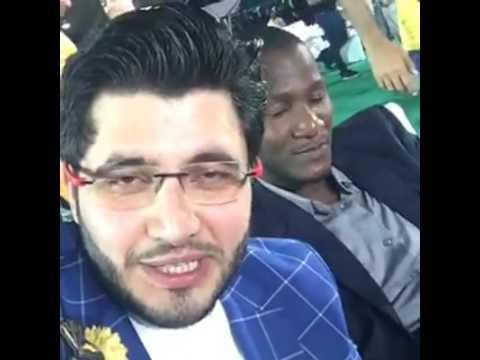 Darren Sammy speaking Pushto for Peshawar Zalmi with Javed Afridi