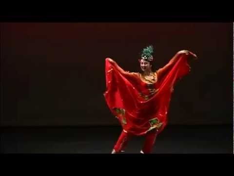 Origin of Indian Kathak-Mughal dance (Uyghur dance)