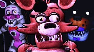 I FOUND THE PRIVATE ROOM DOOR! || Five Nights at Freddy