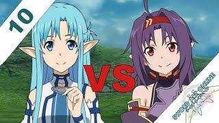 Sword Art Online: Lost Song English Walkthrough PS3 / PS VITA 10 - Asuna VS Yuuki (Zekken) PVP