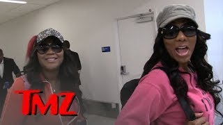 Tamar Braxton's Sisters Flock to L.A. to Support Her Through Divorce | TMZ