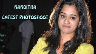 Nanditha's Latest Photoshoot @ Lovers Trailer Launch Event