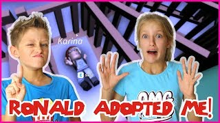 Ronald Adopted Me!!!