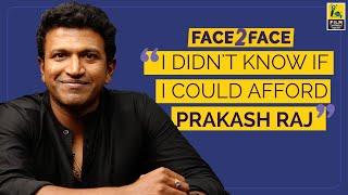 Puneeth Rajkumar Interview With Kairam Vaashi | Face 2 Face