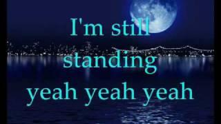 Elton John - I'm still standing (with lyrics)
