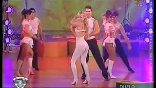 Rocío Guirao Díaz: Bailando 2009 Cumbia