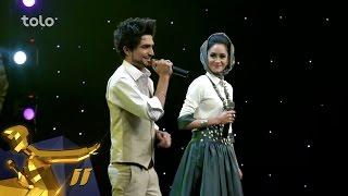 Afghan Star Season 11 - Top 11 Elimination - Sahar Arian & Mansoor Arian