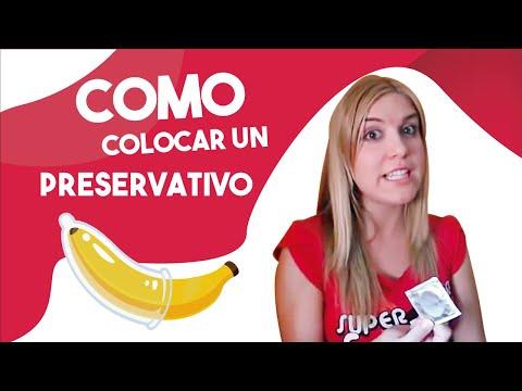 cómo colocar un preservativo cómo ponerse un condón