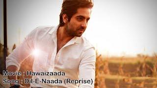 Dil-E-Nadaan - Reprise - Hawaizaada [ HQ + Lyrics ]