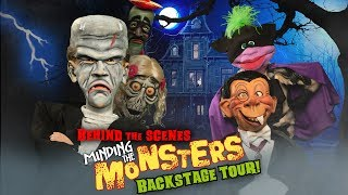 Behind the Scenes: Minding The Monsters' Backstage Tour! | JEFF DUNHAM