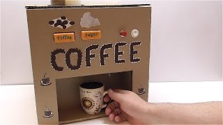 Coffee machine How to make a coffee machine