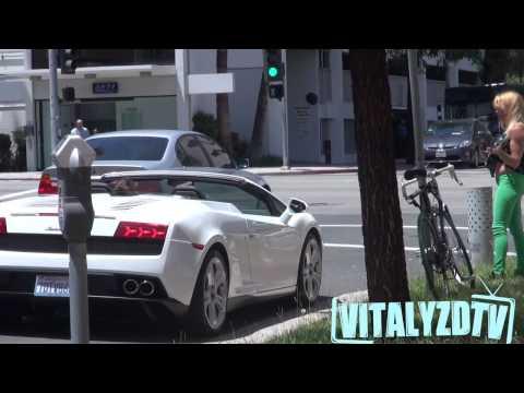 Kızları Hiç Konuşmadan Lamborghini ye Bindirmek.
