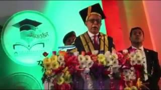 First Convocation Of Jatio Kobi Kazi Nazrul Islam University- JKKNIU (Abdul Hamid)  Funny Speech