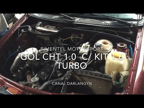 Gol CHT 1.0 Turbo na Pimentel Motorsport Canal DarlanGyn