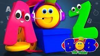 Bob The Train   Nursery Rhymes For Babies   Kindergarten Cartoons