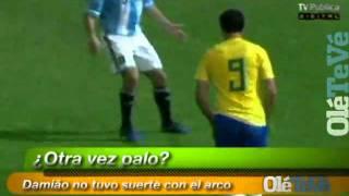 Lambreta de Leandro Damião [Narração Argentina] - Argentina Vs Brasil