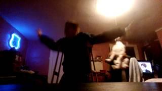 Cupid shuffle dance scared