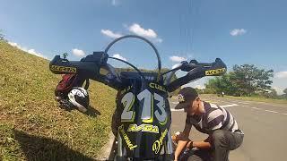 🏁🏍Provando moto AKT de competicion!!🏍🏁