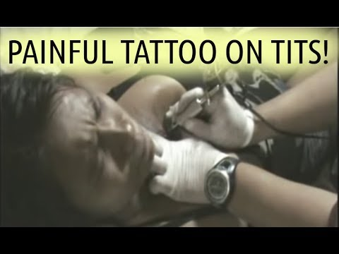 Xxx Mp4 Painful Tattoo On Tits 1 2 Breasts Boobs Filipina Bar Girl Tattooed 3gp Sex