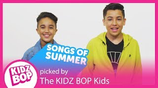 Introducing The Hottest Songs of Summer 2018 from KIDZ BOP & YouTube Kids!