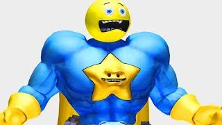 Comic Jumper: The Adventures of Captain Smiley All Cutscenes (Game Movie) 1080p HD