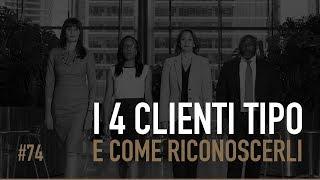 I 4 CLIENTI TIPO E COME RICONOSCERLI | ICDV #74
