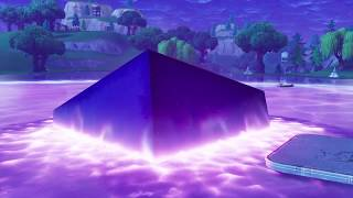 Cube Melting into Loot Lake!!|Fortnite