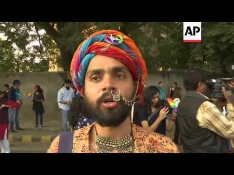 Indian gay parade amid push for LGBT rights