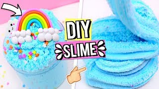 DIY SLIME RECIPES For Beginners! How To Make Perfect Cloud Slime! Making The Cutest Slimes!