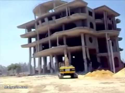 Una rara demolición con un terrible final