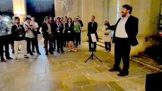 Peter Reichl Sings Accompanied By Markus Fiedler (2) ITC 28 Reception