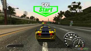 Burnout 2: Point of Impact - Gameplay PS2 HD 720P