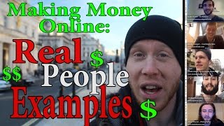 Making Money Online - Real People Interviews