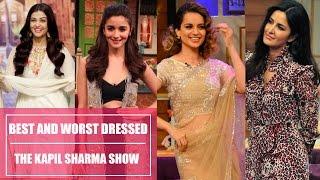 Aishwarya Rai Bachchan, Katrina Kaif, Anushka Sharma: The Kapil Sharma Show best and worst dressed