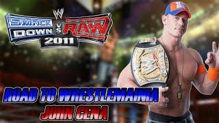 WWE SmackDown vs Raw 2011 - Road to Wrestlemania: John Cena - #09 - WRESTLEMANIA