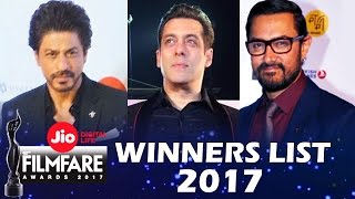 Jio Filmfare Awards 2017 - FULL WINNERS LIST - Best Actor, Best Actress...