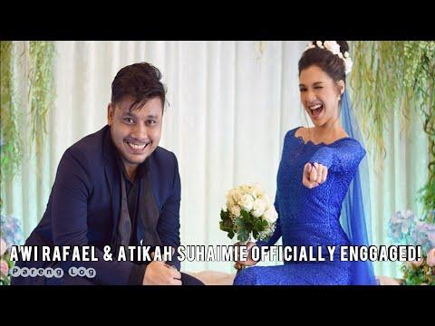 Xxx Mp4 Tahniah Awi Rafael Atikah Suhaimie Telah Mengikat Tali Pertunangan Pada 17th March 2018 💏 3gp Sex