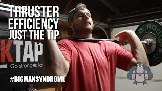 Thruster Efficiency Tips  - Front Rack, Breathing and Catch