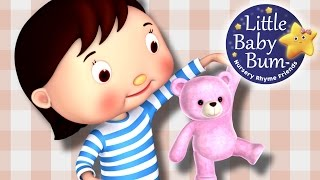 Teddy Bear Teddy Bear | Nursery Rhymes by LittleBabyBum!