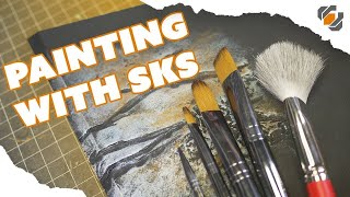 Hand Painting Props 101 with SKS Props - Brushes, Paint, & Techniques