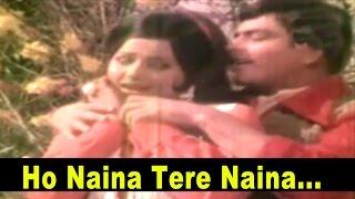Ho Naina Tere Naina - Romantic Song - Lata, Mukesh @ Ek Bechara - Jeetendra, Rekha, Vinod Khanna
