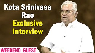 Exclusive Interview with Kota Srinivasa Rao || Weekend Guest || NTV