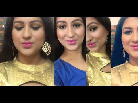 Xxx Mp4 Indian Wedding Guest Makeup Gold Eyeshadow Pink Lips Huge Giveaway 3gp Sex
